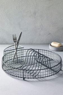 Круглая сушилка для посуды