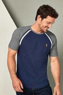 Pique Taped Raglan T-Shirt