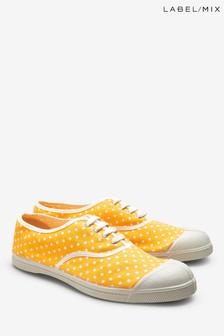 Mix/Bensimon Yellow Spot Plimsoll