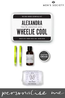 Personalised Bike Essentials Kit by Mens Society
