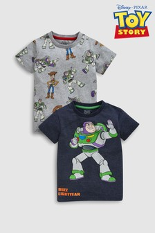 Toy Story T-Shirts Two Pack (3mths-6yrs)