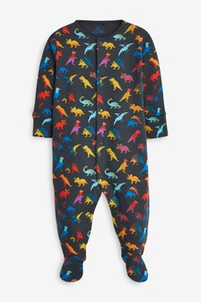 Multi Dinosaur Sleepsuit (0mths-2yrs)