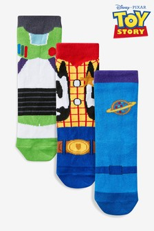 3 Pack Toy Story Socks (Younger)
