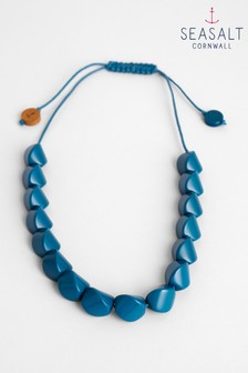 Seasalt Blue Installation Mid Teal Necklace