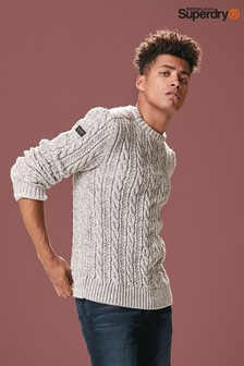 Superdry Grey Crew Jumper