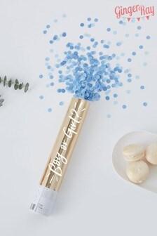 Blue Gender Reveal Confetti Cannon