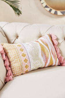 Ogee Pattern Mix Cushion