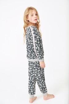 Jemné pyžamo s leopardím vzorom (3 – 16 rok.)