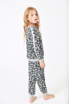 Ультрамягкая пижама леопардовой расцветки (3-16 лет)