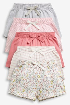 Pretty Shorts Five Pack (3mths-7yrs)
