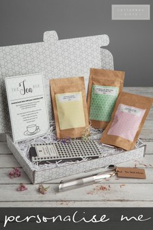 Personalised Tea Gift Set by Letterbox Gifts