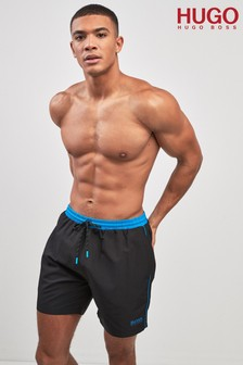 Hugo Boss Blue/Black Swimshorts