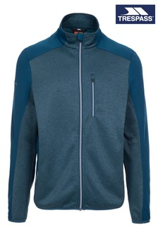 Trespass Blue Tansorton Male Fleece