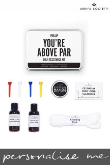 Personalised Golf Essentials Kit by Mens Society