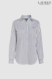 Lauren Ralph Lauren Black Stripe Shirt