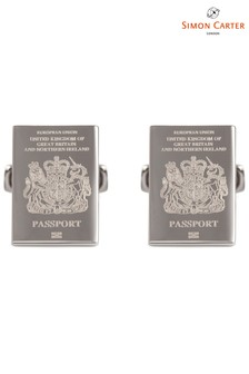 Simon Carter Passport Cufflinks