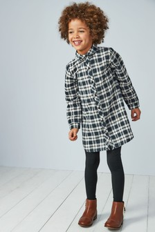 Longline Check Shirt (3-16yrs)