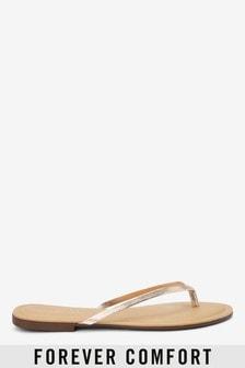 5ef80d2ef Forever Comfort® Leather Flip Flops