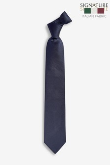 Signature Italian Textured Silk Tie