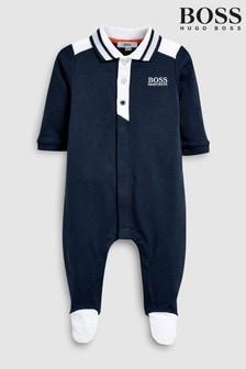 BOSS Navy Sleepsuit