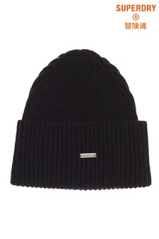 Superdry Black Edit Beanie