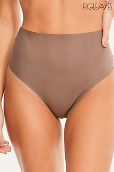 Figleaves Smoothing High Waisted Thong
