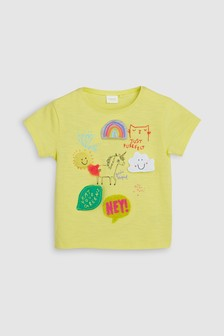 Short Sleeve Badge Tee (3mths-7yrs)