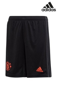 adidas Black Manchester United 2019/2020 3rd Short Youth