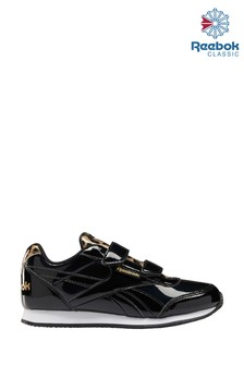 Reebok Black Classic Junior And Youth Trainers