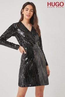 HUGO Black Kelias Dress