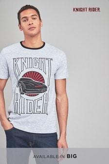 T-Shirt mit Knight-Rider-Motiv