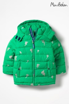 Boden Green High Visibility Padded Jacket
