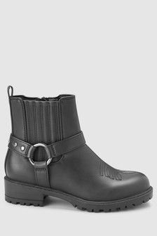 Chunky Western Ankle Boots (Older)