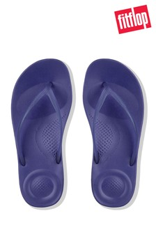 FitFlop™ Blue IQushion™ Pearlised Flip Flop