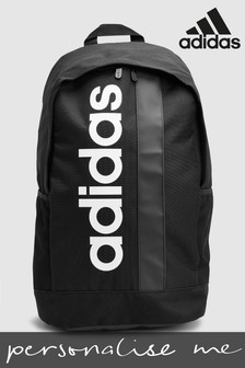 adidas Black Personalised Backpack