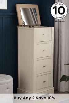 Hampton Country Luxe 4 Drawer Jewellery Chest