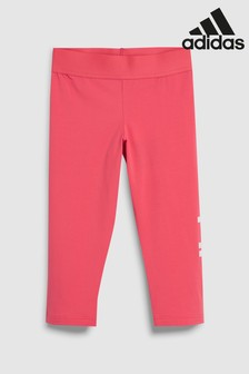 adidas Pink Essentials Linear 3/4 Tight