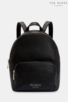 ae8821ea6 Ted Baker Black Soft Leather Backpack
