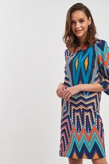 Print T-Shirt Dress