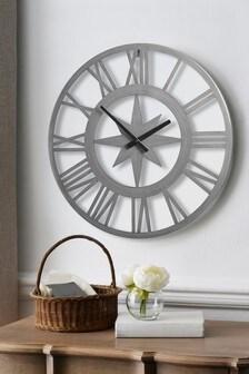 XL Outdoor Compass Clock