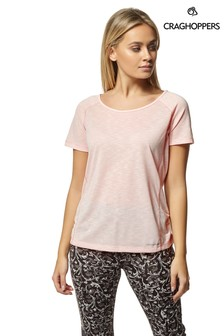 Craghoppers Pink Nosilife Harbour T-Shirt