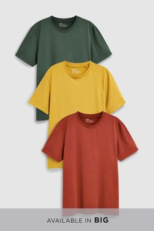 Colour T-Shirts Three Pack