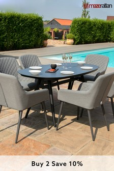 Zest 6 Seater Dining Set By Maze Rattan