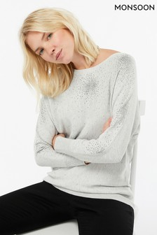 45d1b649e876a8 Embellished Jumpers | Womens Beaded Jumpers | Next Ireland