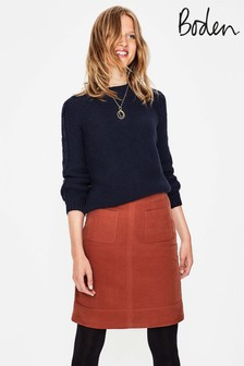 Boden Brown Dorchester Skirt