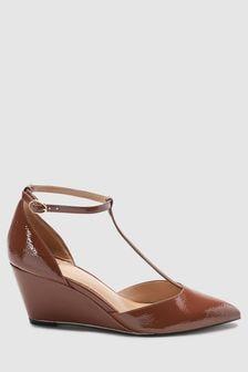 Туфли с Т-образным ремешком на танкетке Forever Comfort