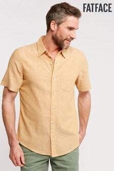 FatFace Bugle Linen Cotton Shirt