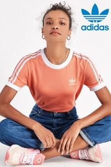 adidas Originals Coral 3 Stripe T-Shirt