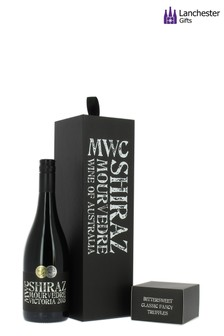 MWC Shiraz Mourvedre And Truffles Gift Box by Lanchester Gifts