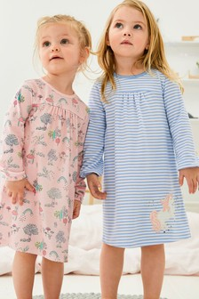 2 Pack Unicorn Nighties (2-12yrs)